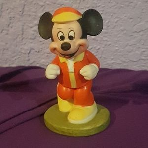 1970's Mickey Mouse Figurine